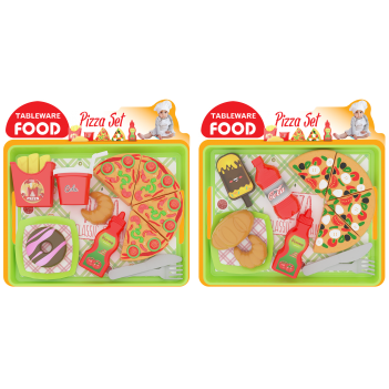 Tableware Food Pizza Seti
